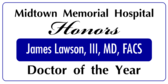 Honors Doctor Of The Year