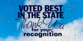 Thank You Vote Best In State