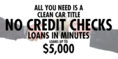 Cash Now With Clean Car Title