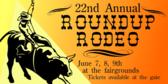 Roundup Rodeo Parchment Cowboy