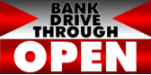 Bank Drive Through Open Redpoint
