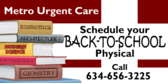 Urgent Care Schedule Physical
