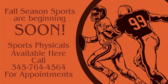 Urgent Care Physical Fall Sports