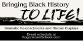 Black History Month Re-enactments