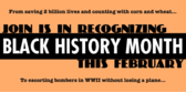 Black History Month Join us in Recognizing