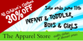Childrens Clothing Sale