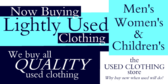 Consignment Buying Used Clothing