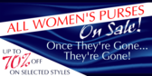 Womens Purse Sale