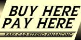 Car Stereo Financing