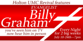 Church Revival Billy Graham at University