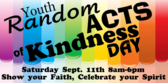 Youth Group Random Acts of Kindness