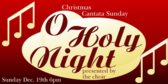 Church Service Christmas O Holy Night