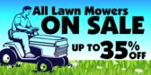 Home Improvement Lawn Mower Sale