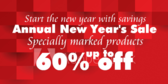 Annual New Year's Sale