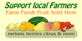 Farm Fresh Fruit Sold Here
