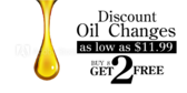 Oil Change Loyalty Get 2 Free