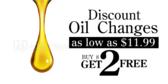 Oil Change Loyalty Get 2 Free