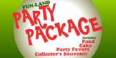 Putt Putt Party Package