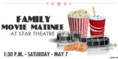 Movie Theater Matinee Specials