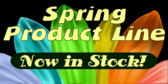 Spring Fashions clothing promotion