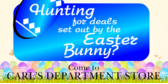 Easter Deals Come Here to Hunt for Them
