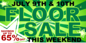 Floor Sale Large Discounts