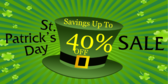 St Patricks Day Sale Green