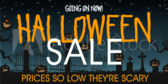 Scary Halloween Sales