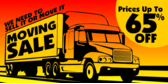Moving Sale With Truck