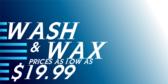 Auto Detailing Wash Wax