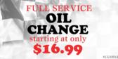 Oil Change Full Service Checkerd Flag