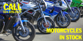 Motorcycles in Stock