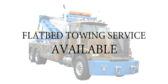 Towing Flatbed All Vehicles