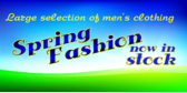 Mens Clothing Sale Spring