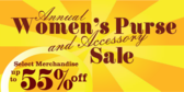 Womens Purse And Accessory Sale