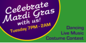 Celebrate Mardi Gras with Us