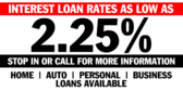 Bank Loans All Needs Low Rate