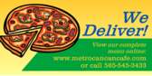 We Deliver View Our Menu Online