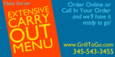Check Out Our Carry Out Menu