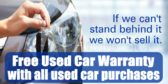Free Used Car Warranty