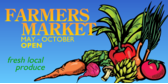 Farmers Market Open
