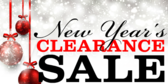 New Years Clearance Sale 2 Lines
