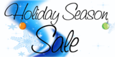 Holidays Season Sale