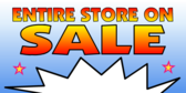 Entire Store On Sale Blue Spark