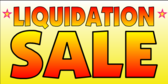 Liquidation Sale Event