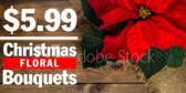 Christmas Floral Bouquets