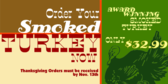 Order Your Smoked Turkey for Thanksgiving