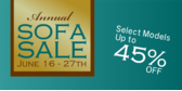 Annual Sofa Sale