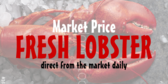 Fresh Lobster Market Price