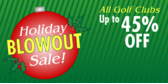 Holiday Bowout Golf Club Sale